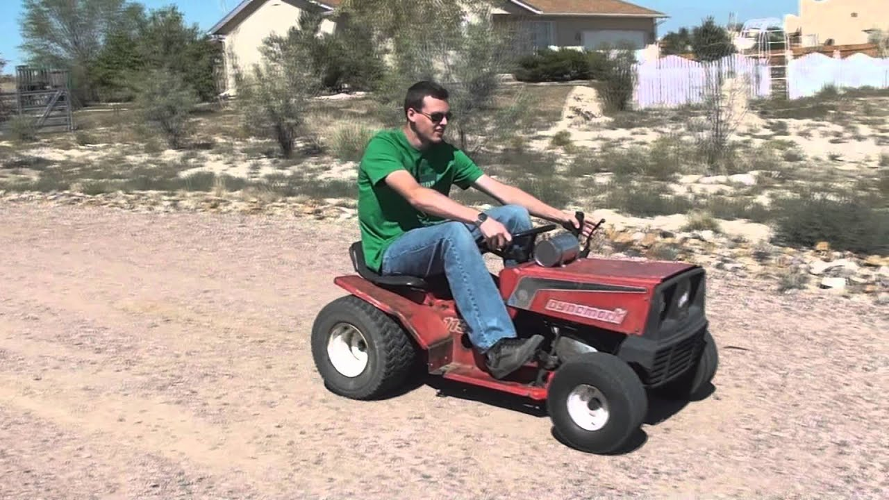 racing lawn mower honda motorcycle engine 35mph part two   youtube