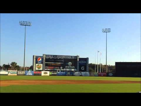 George M. Steinbrenner Field is listed (or ranked) 14 on the list The Coolest Grapefruit League Spring Training Stadiums