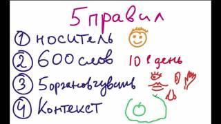 5 правил обучения детей английскому языку.