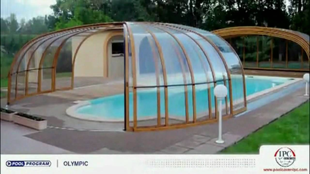 Swimming pool spa and sunroom enclosure designs youtube for Inground pool enclosure prices