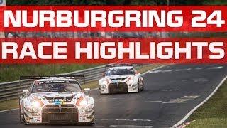 NURBURGRING 24h Highlights #N24H - NISSAN GT-R NISMO GT3