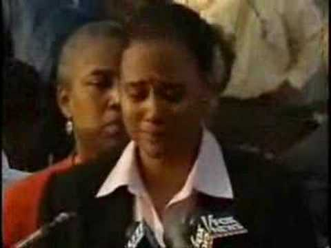 [Fair Use Clip] Marion Jones Press Conference NY