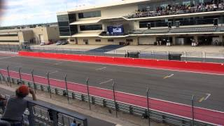 Racing at lone star Le Mans