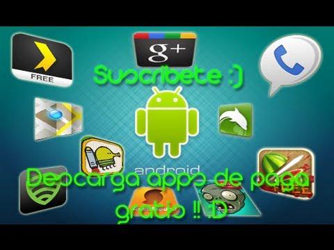 Descarga Aplicaciones de Pago Gratis Para Android Enero // 2014