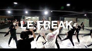 MIND DANCE (마인드댄스) 왁킹/걸스(Waacking/Girls) 8:10 Class | Chic - Le Freak | 연보라 T