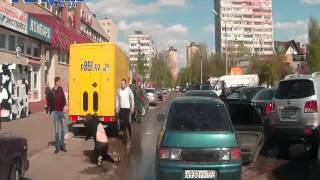 ROAD RAGE Russia - Attackers getting their ass kicked