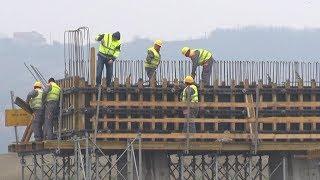 Izgradnja petlje Obrenovac u sklopu auto-puta