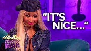Nicki Minaj Tries British Scones (and British Men) - Alan Carr Chatty Man