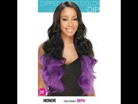 Freetress Equal Invisible L Part Lace Wig~ Honor  (Ombre)