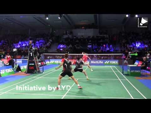 Lee Yong Dae close up Denmark Open 2014