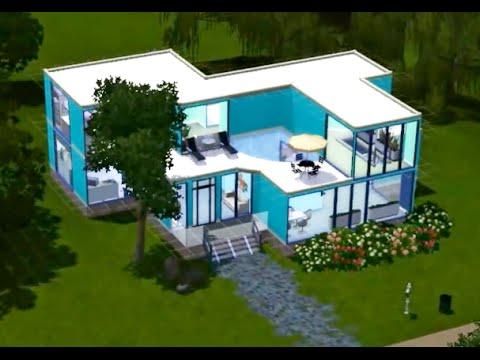 Как в симсах 3 сделать дом