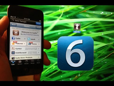 New Jailbreak 6.0.1 / 6.0. iOS 6 Tethered/Untethered Redsn0w 0.9.15b1 iPhone 4. 3GS & iPod Touch 4.