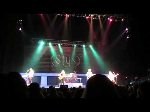 Crystal Ball - Styx - King Center - Melbourne, FL - 2-28-14