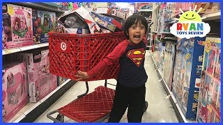 KIDS TOY SHOPPING SPREE WITH RYAN!!!!