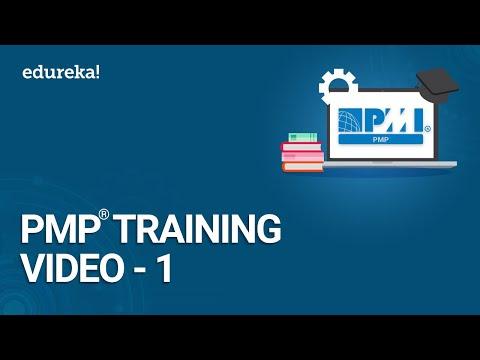 PMP Training Video - 1   PMBOK 6th Edition Training   PMP Certification Exam Training   Edureka