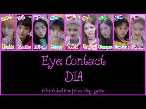 DIA (다이아) - Eye Contact (아이컨택) [Color Coded Han|Rom|Eng Lyrics]