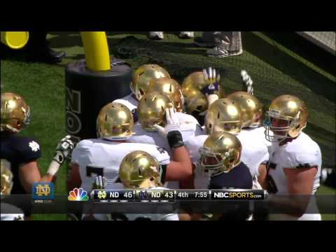 Louis Nix Two-Point Conversion - Notre Dame Football