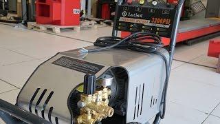 Máy rửa xe cao áp Lutian 5,5Kw-3200psi - Hoàng Lutian (BH 12 tháng)