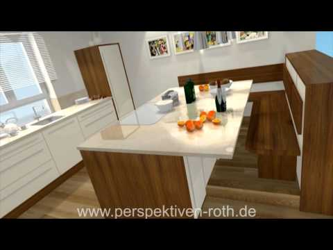 k chen ideen 3d design 3d visualisierung 3d. Black Bedroom Furniture Sets. Home Design Ideas
