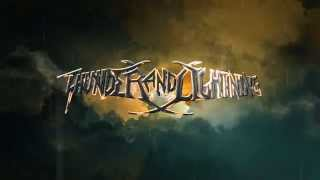 THUNDER AND LIGHTING - Journey Of The Damned (Lyrics Video)