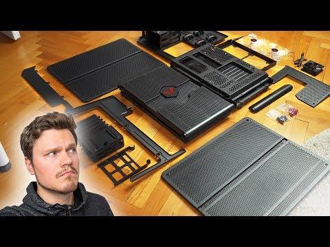 It Came In PIECES!  Building a Unique Modular Case