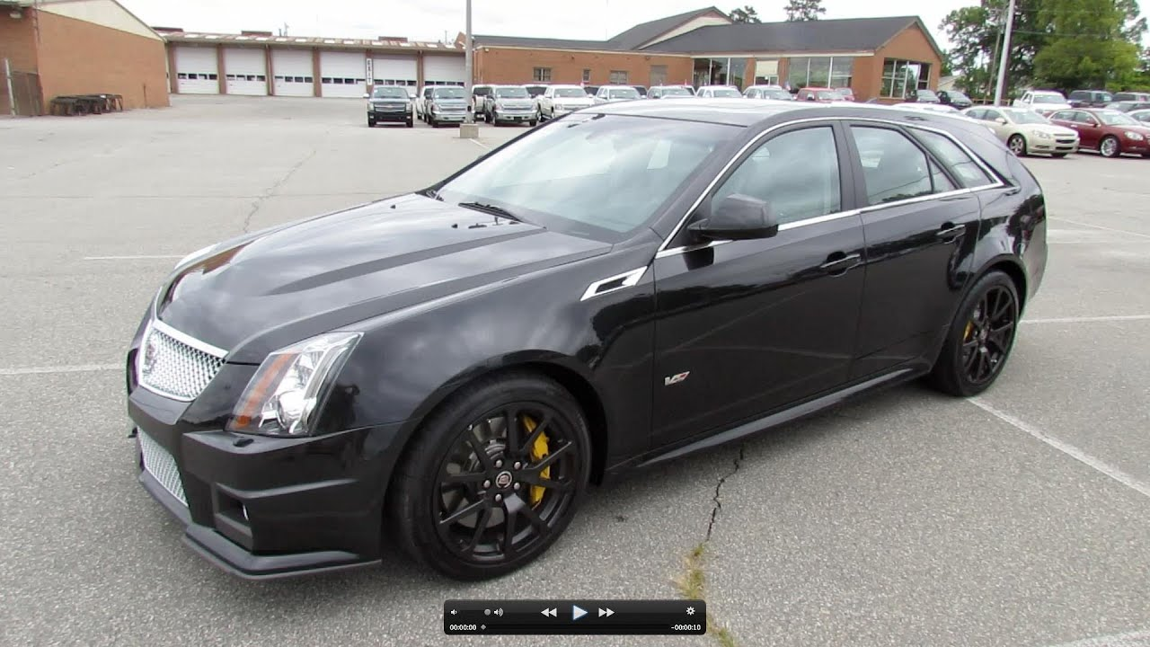 2012 Cadillac Cts V Sport Wagon Start Up Exhaust And In