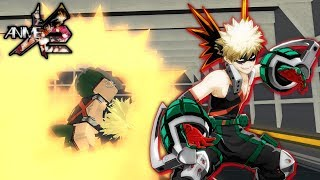 *EXPLOSIONS* Katsuki Bakugo in Anime Cross 2! | Roblox