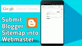 How To Submit Blogger Sitemap | Google Search Console | Hindi