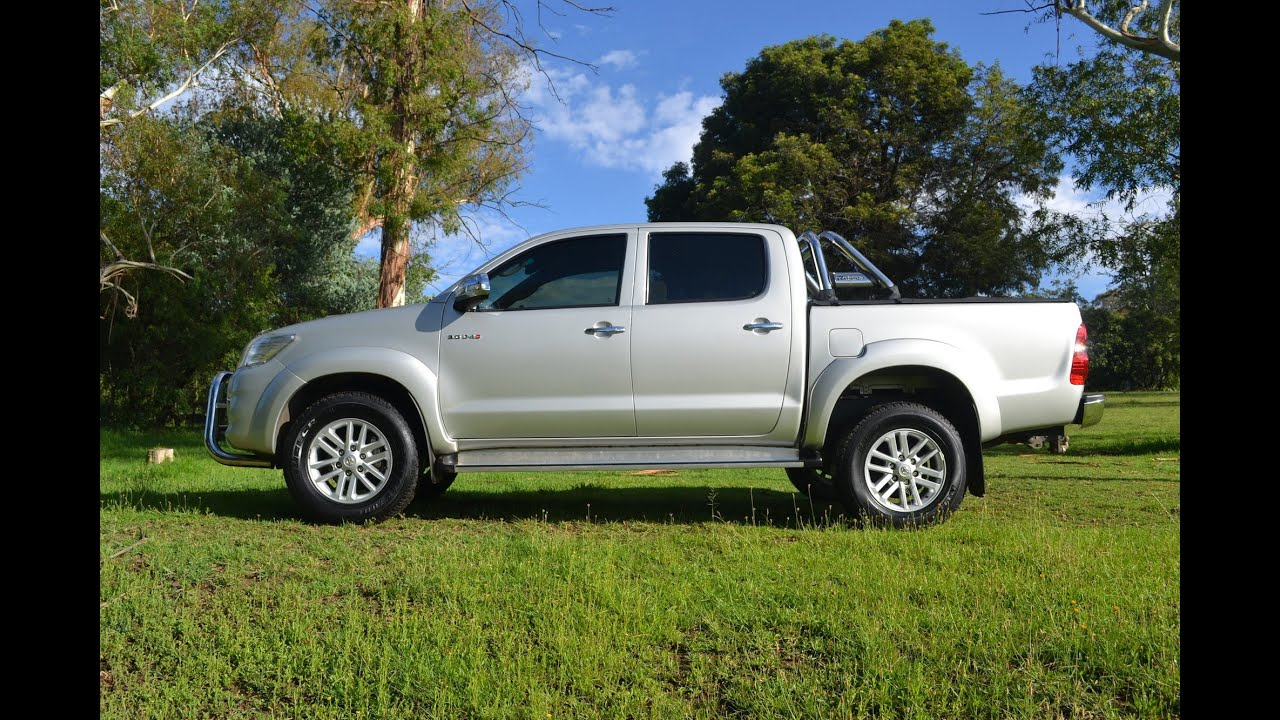 2013 Toyota Hilux 3 0 D4d D C 2891 Youtube