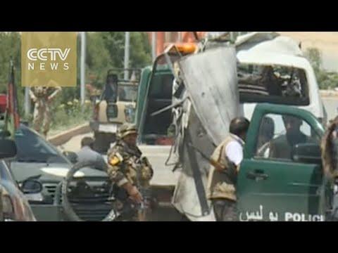 Suicide bomber kills 11 near Afghan capital