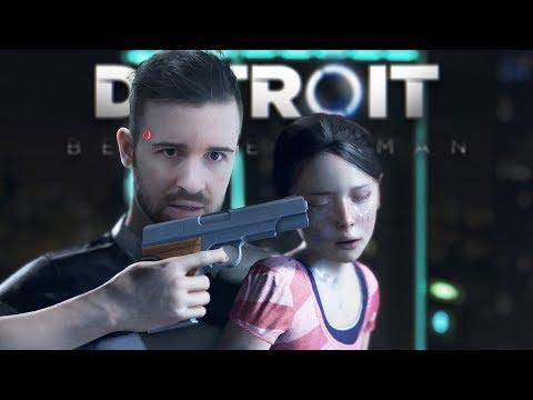 СУМАСШЕДШИЙ АНДРОИД - Detroit: Become Human #1 [Перезалив]