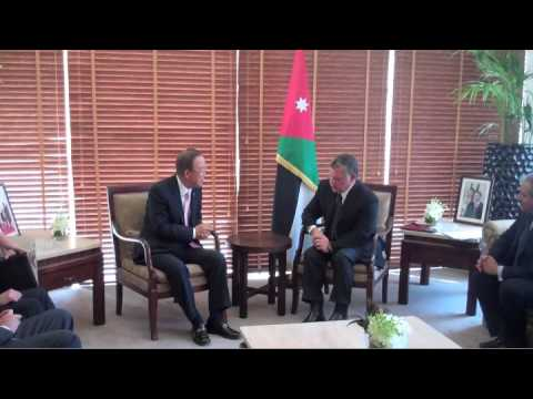 TodaysNetworkNews: UN S-G BAN KI-MOON in JORDAN, PALESTINE, ISRAEL to MEET with LEADERRS