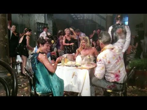 Schweppes TV Commercial - Fancy Food Fight - Behind the Scenes