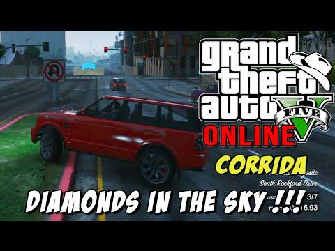 GTA 5 Online - Corrida Diamonds in the Sky: Chimbicao insano...