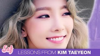 9 Life Lessons from Kim Taeyeon Video l @Soshified