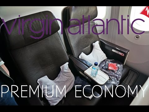 Virgin Atlantic PREMIUM ECONOMY London to New York|Boeing 787-9|W/ATC