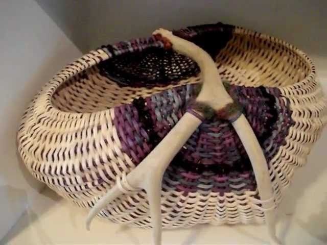 Antler Baskets for Exhibit