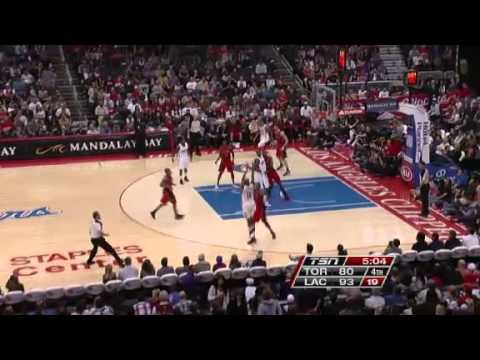 Toronto Raptors vs. Los Angeles Clippers Full Highlights 9 December 2012
