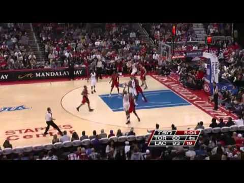 Toronto Raptors vs. Los Angeles Clippers Full Highlights 9 December 2012