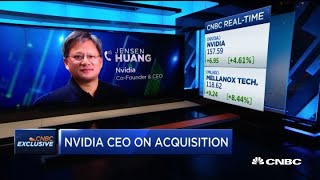 Nvidia CEO Jensen Huang on Mellanox acquisition