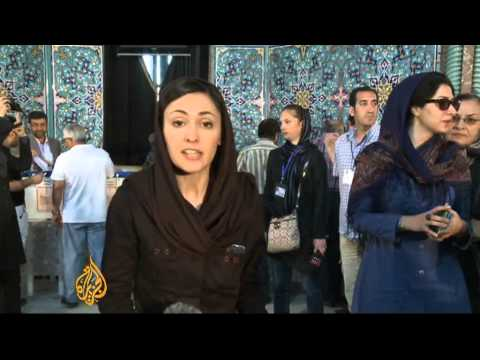 Iranians vote for seventh president