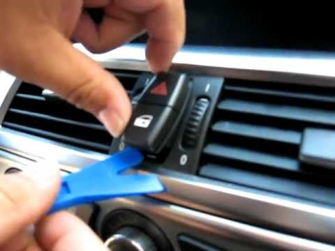 How to Remove Radio / CD Changer from 2007 BMW 650i for Repair