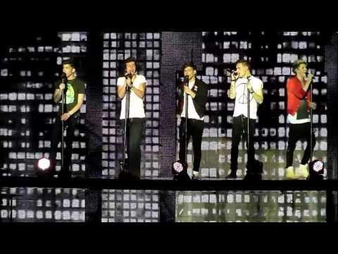 One Direction, Last first Kiss, O2 Dublin 05 03 2013  Hd