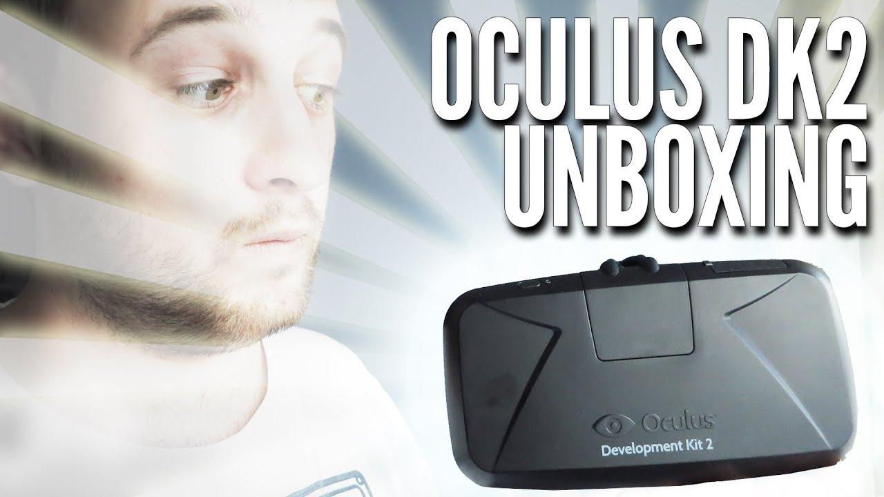 Oculus Rift DK2 Unboxing (Development Kit 2) - YouTube