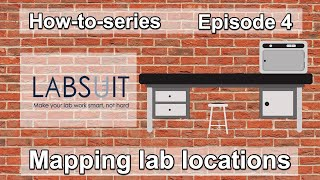 Managing Life Science research lab locations in LabSuit.
