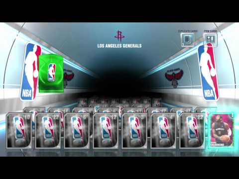 NBA 2K14 Emerald Pack Opening