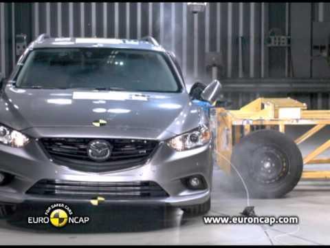 Euro NCAP | Mazda 6 | 2013 | Краш-тест