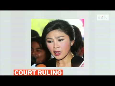 mitv - Thailand's Constitutional Court ruled controversial elections scheduled for next month