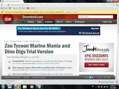 How to download Zoo Tycoon Marine Mania for free. 100% working!