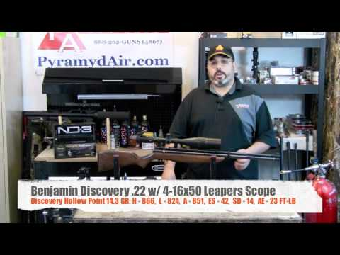 Benjamin Discovery Review -- Amazing PCP airgun for the common man